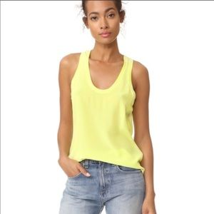 NWT Equipment Mel silk tank top blouse